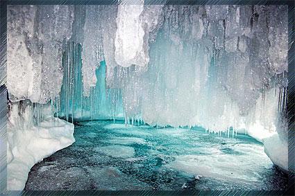 Байкал - полное обледенение