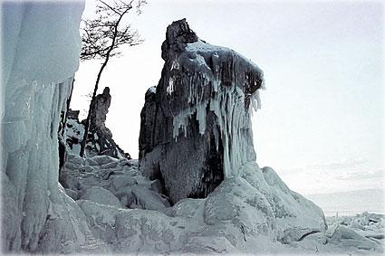 Байкал - мир леденного безмолвия