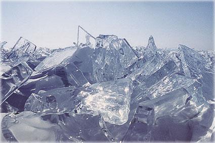 Байкал - во льдах