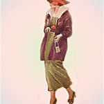 Ретро мода - Модель 14