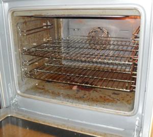 Почистить духовку -  домашними средствами.