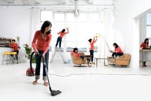 Как быстро убрать квартиру.